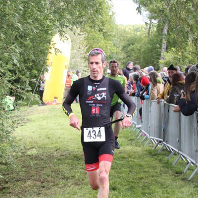 Cosne triathlon running